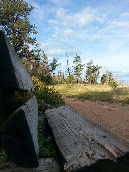 Bench at Greyrock, by Eric Salahub