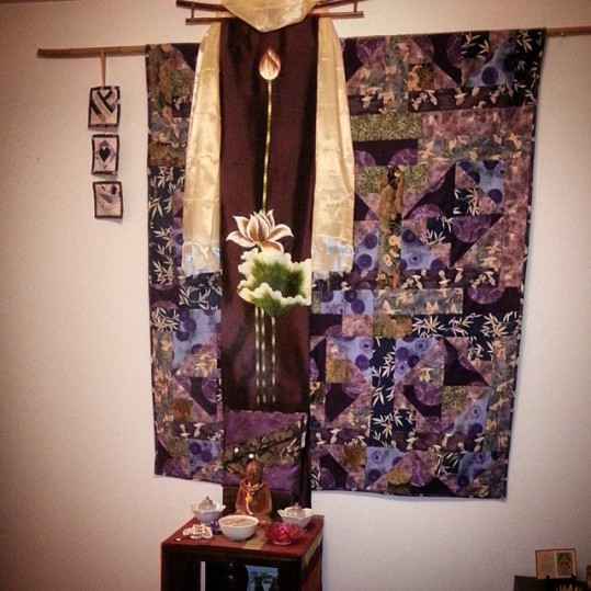 my meditation shrine