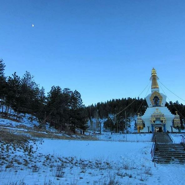 Great Stupa of Dharmakaya, Shambhala Mountain Center