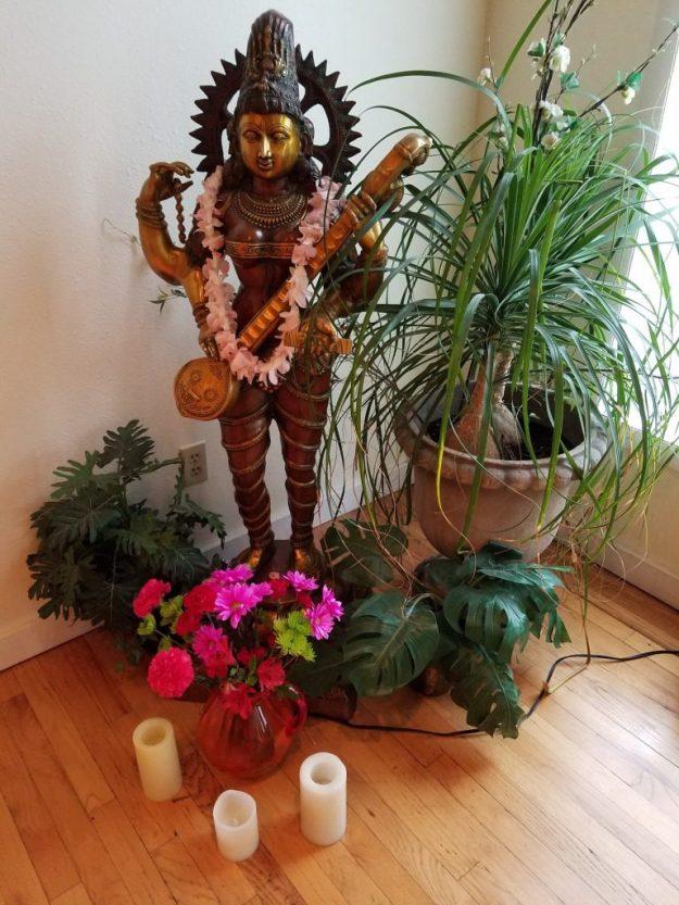 Om Ananda Saraswati