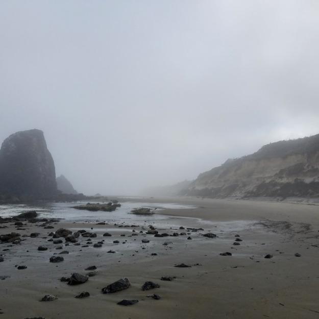 Foggy morning at Ona Beach