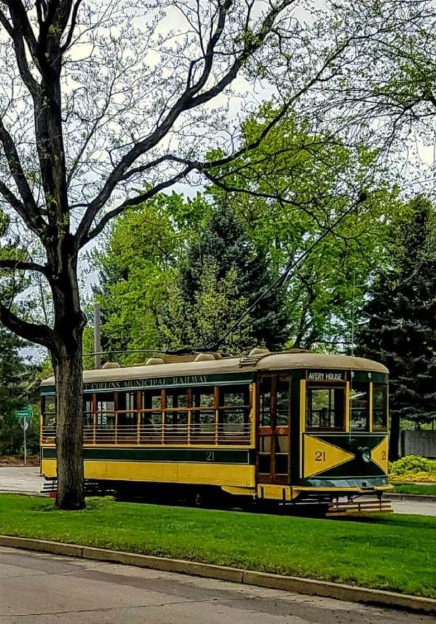 Fort Collins trolley, image by Eric