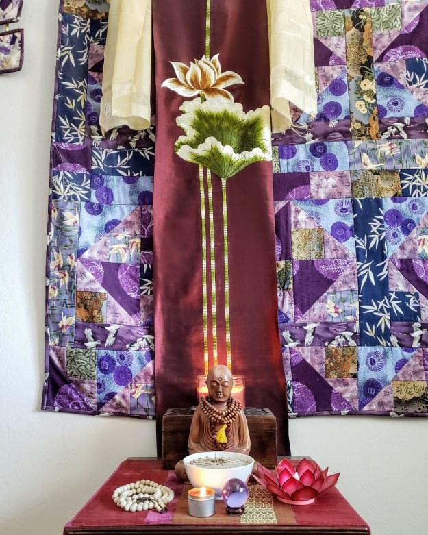 My meditation shrine